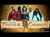 Pirate Medley - 100 Acapella - Peter Hollens &amp Gardiner Sisters DEVINSUPERTRAMP