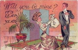 29 февраля в Ирландии женщины делают предложение мужчинам