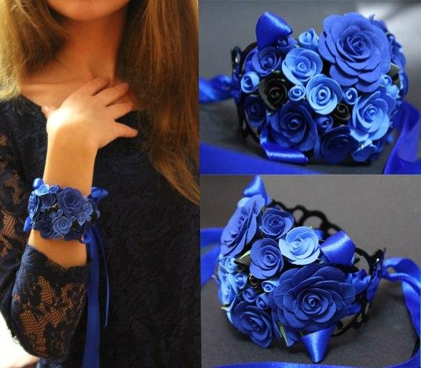 Как сделать браслет из роз своими руками