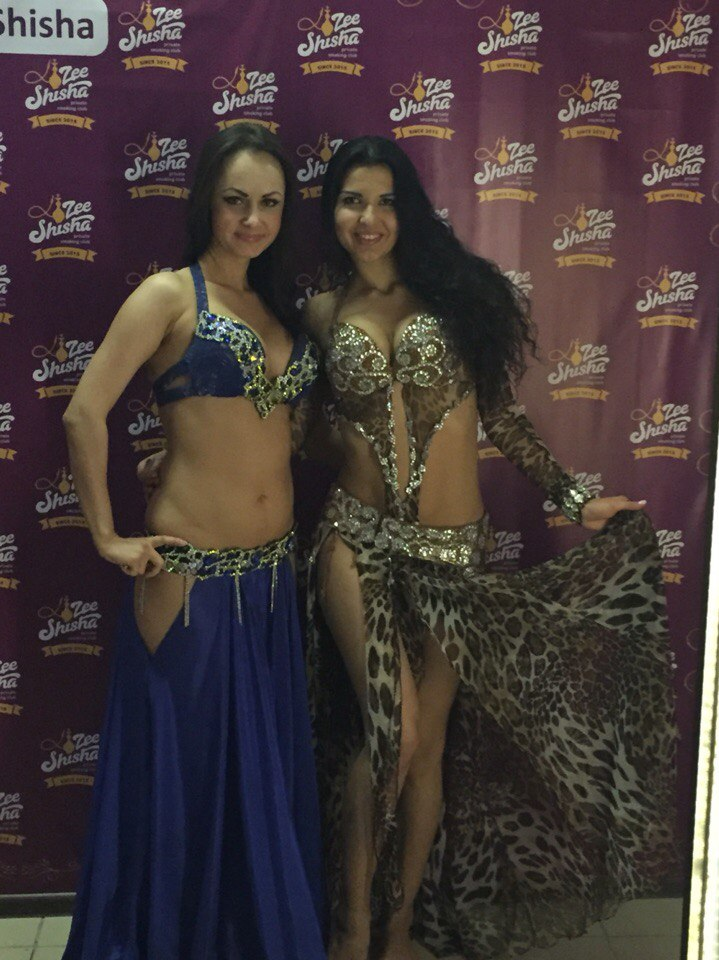 ЛиндаШоу на открытии кальяного клуба Zee Shisha