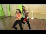 Реггетон в Ritmo Dance - Йорданис Форбес (Куба) с Настей Ивановой