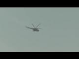 Прямое попадание ракеты из ПЗРК в МИ-8, не вызвало у вертолета серьезных повреждений!