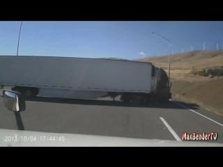 Жесткая авария двух фур |Авто Тюнинг Крутые Тачки