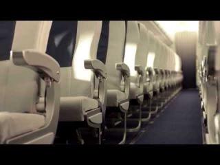 INTERJET  - interiores de los nuevos aviones Sukhoi Superjet 100 ---PININFARINA