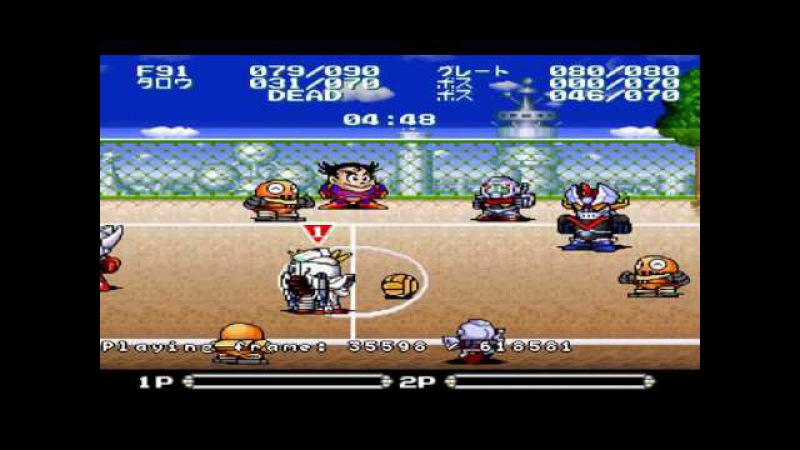 Azatron - Battle Dodgeball [snes9x], Story Mode Firstrun (1 part)