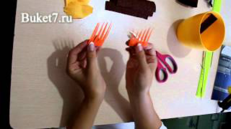 Анна Тюмерова Сумочка из конфет своими руками. Часть 1