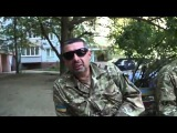 Бойцы батальона Донбасс о Добермане 15 09 14