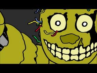Спрингтрапщина. Часть 3 - 5 Ночей с Фредди [Комикс на русском]   ФНАФ Комикс