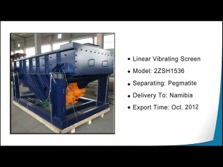 loading for delivery of linear screen
