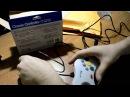 Распаковка геймпада для компьютера Retrolink Classic for Sega Saturn Style USB