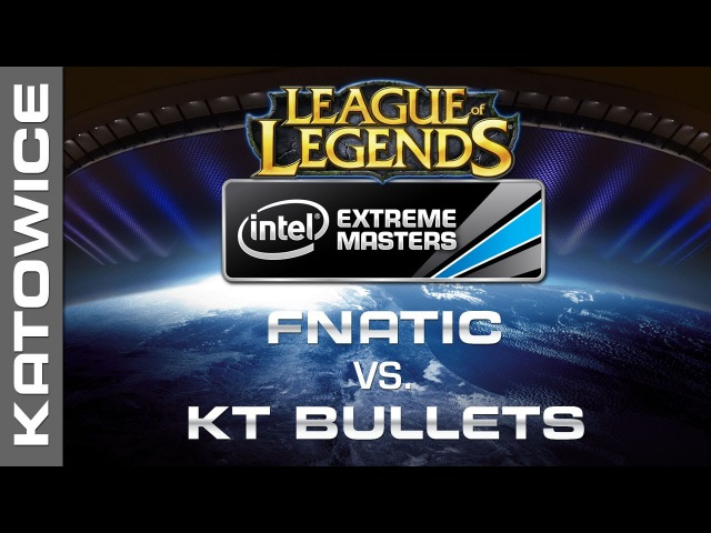 Fnatic vs. KT Bullets - Grand Final Map 1 - IEM Katowice 2014 - League of Legends