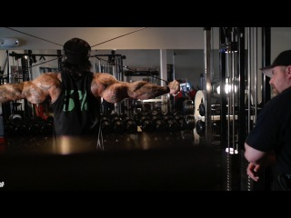 MONSTER TRAPS AND REAR DELTS = FUCKING BEAST - KILLIN SHIT WITH BIG J - Rich Piana