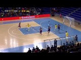 FC Barcelona- Peñíscola Bodegas Dunviro 5-2 Highlights J18 Futsal 17.01.2015
