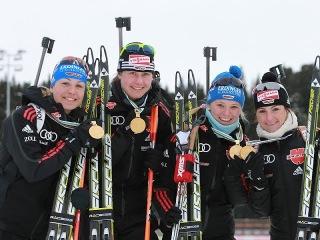 2011-03-13 Биатлон Чемпионат мира 2011 Эстафета Женщины Ханты Мансийск