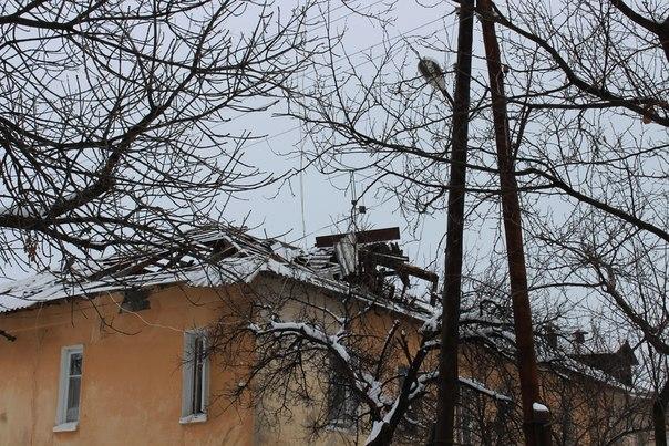 Счастье, Луганск, обстрел, разрушения 2 декабря
