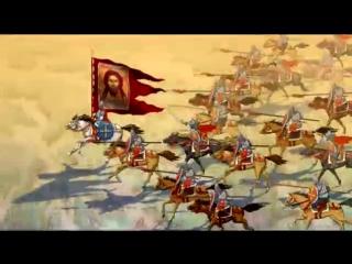 Православные мультфильмы - Твой крест, Пересвет и Ослябя и Э