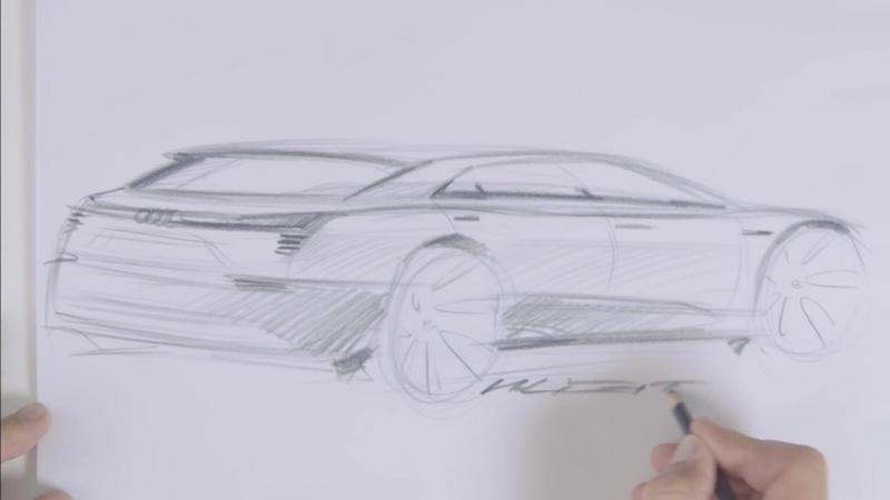 Teaser - Audi e-tron quattro concept