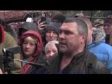 Акция в память об убитых патриотах Украины прошла в Москве у посольства Украины