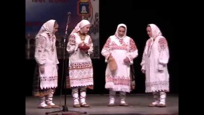 семейный ансамбль Горошины -2010г