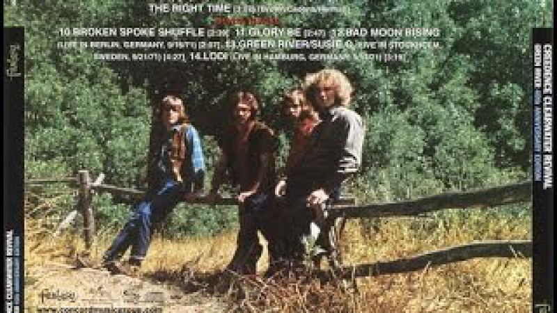 Creedence Clearwater Revival Green River 1969 Full Album
