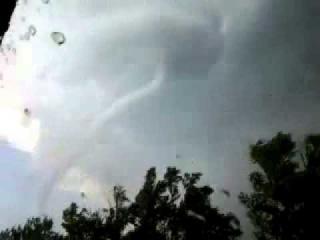 Торнадо по дороге с Усть каменогорска в Семей