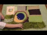 Игровой развивающий коврик - для развития мелкой моторики, речи и интересных сов...
