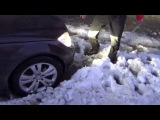 Как мы засадили Mercedes на ровном месте)))