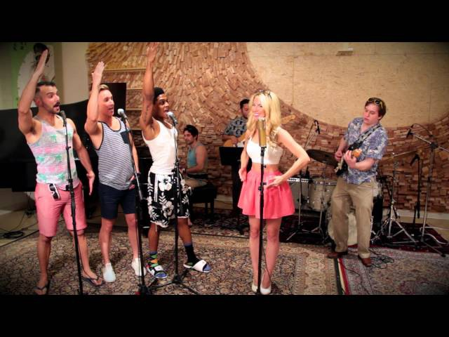 Barbie Girl Vintage Beach Boys Style Aqua Cover ft Morgan James