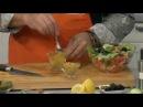 Вкусные советы Салат из семги с маринованными огурцами и овощами 10.12.2013