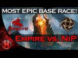 MOST EPIC BASE RACE EVER in the History of Dota 2! Empire vs. NiP