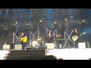 Of Monsters And Men - Crystals (Open'er 2015 live)