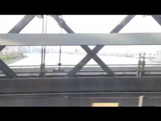 Танец негра в метро Нью-Йорка