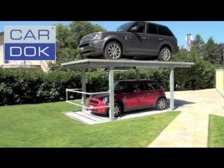 Cardok - Double your parking space with our high-tech solution