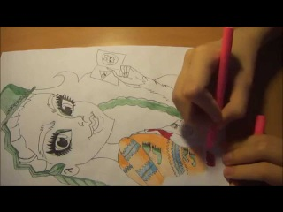 Как я рисую Monster High \ Марисоль Кокси #9 (Запрос)