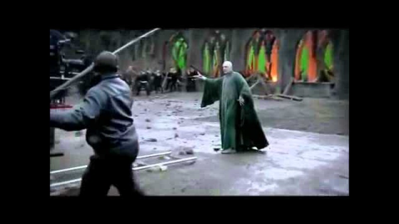 Draco Malfoy saving Harry's ass and throwing him his wand