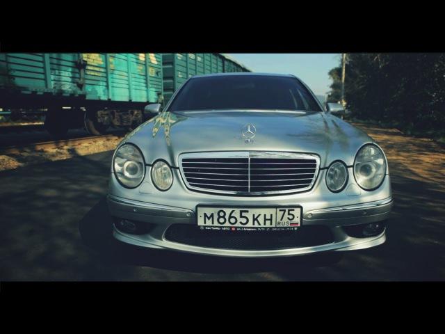 Тест-драйв Mercedes E55 AMG W211 (гонки с MARK II 2JZ-GTE)