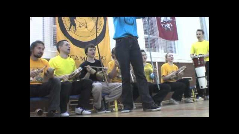 Gege e Ima. Capoeira Angola, Moscow Russia 2011.