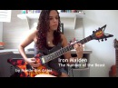 Iron Maiden - The Number of the Beast Guitar Cover by Noelle dos Anjos