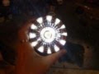 HOW TO and FREE GIVE AWAY arc reactor, ironman cosplay