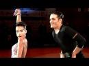 Nino Langella - Kristina Moshenskaya, Brno Open 2013, WDSF WO latin, final - jive