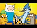 Finn vs Mordecai Épicas Batallas de Rap del Frikismo Keyblade ft Kinox y Vau Boy