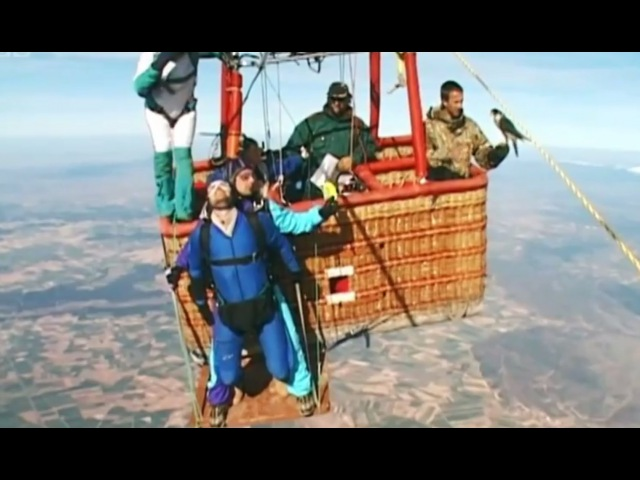 Falcon Vs Skydiver | Ultimate Killers | BBC Earth