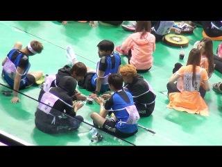 150810 아육대 방탄소년단 ISAC BTS 01 playing ABC game