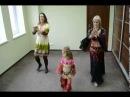 Репетиція початківці Мама і доця  східні танці Роксолана