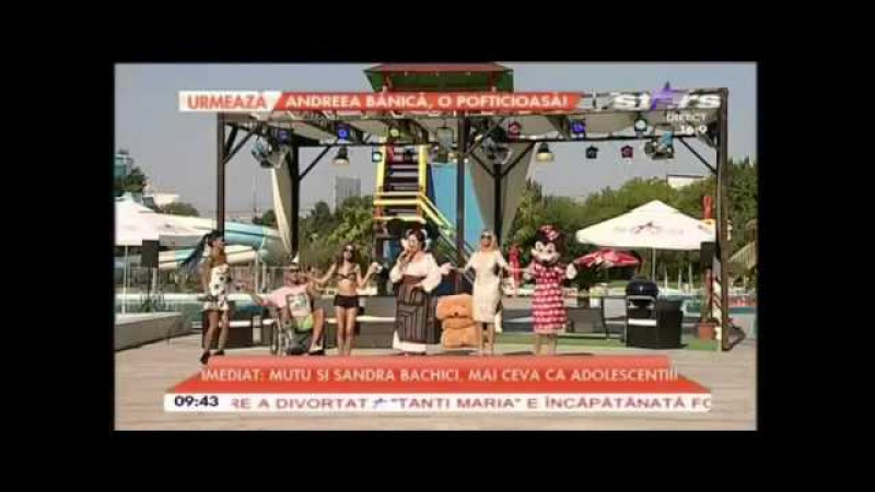 Simona Manolache Ciuntea - Coragheste vreau sa joc ! ANTENA STARS