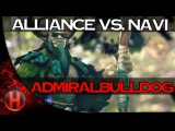 Alliance.AdmiralBulldog PERFECT Nature's Prophet Gameplay vs. NaVi Dota 2
