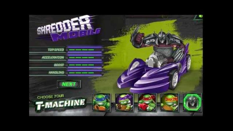 Turles Mutant Ninja Tmachines street racer - Черепашки Ниндзя