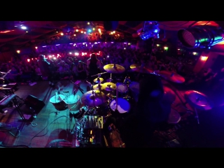 "Kreechy (the hardkiss) - gopro drum cam ""doctor thomases"""