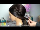 Праздничная прическа на длинные волосы. Wedding prom hairstyles for long hair