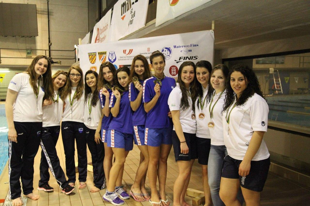 Таганрожцы завоевали 15 медалей на третьем этапе Кубка Мира по подводному спорту в Испании